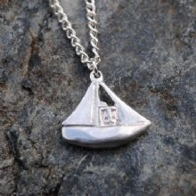 Fishing boat pendant P93